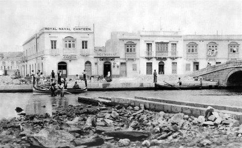 Gzira Royal Naval canteen 1